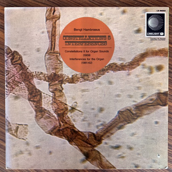 BENGT HAMBRAEUS Constellations & Interferences (Limelight - USA original) (VG+/EX) LP