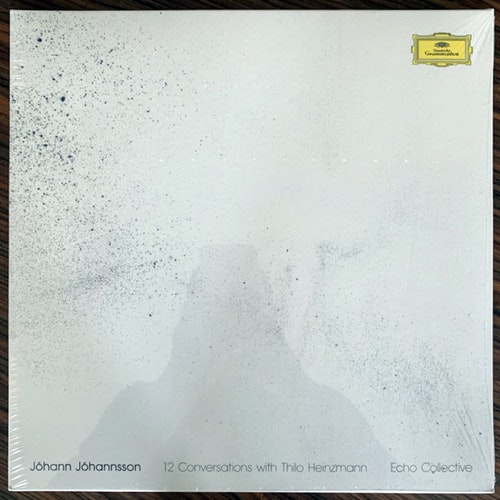 JÓHANN JÓHANNSSON, ECHO COLLECTIVE 12 Conversations With Thilo Heinzmann (Deutsche Grammophon - Europe original) (SS) LP