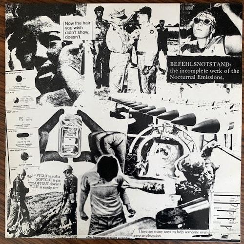 NOCTURNAL EMISSIONS Befehlsnotstand (Sterile - UK original) (VG+) LP