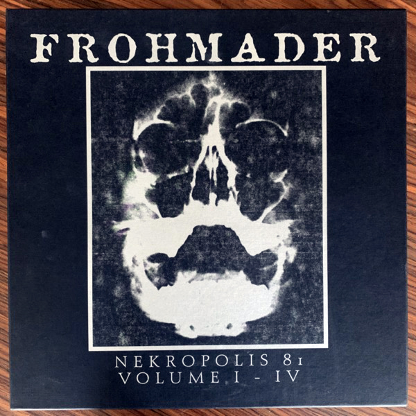 FROHMADER Nekropolis 81 Volume I-IV (Vinyl-on-demand - Germany original) (EX/NM) 2LP BOX