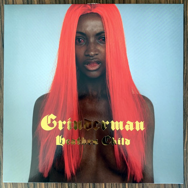 GRINDERMAN Heathen Child (Red vinyl) (Mute - Europe repress) (VG+/NM) 12""