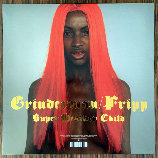 "GRINDERMAN Heathen Child (Red vinyl) (Mute - Europe repress) (VG+/NM) 12"""