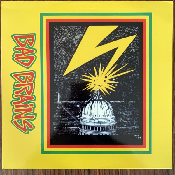 BAD BRAINS Bad Brains (ROIR - USA reissue) (VG+/EX) LP