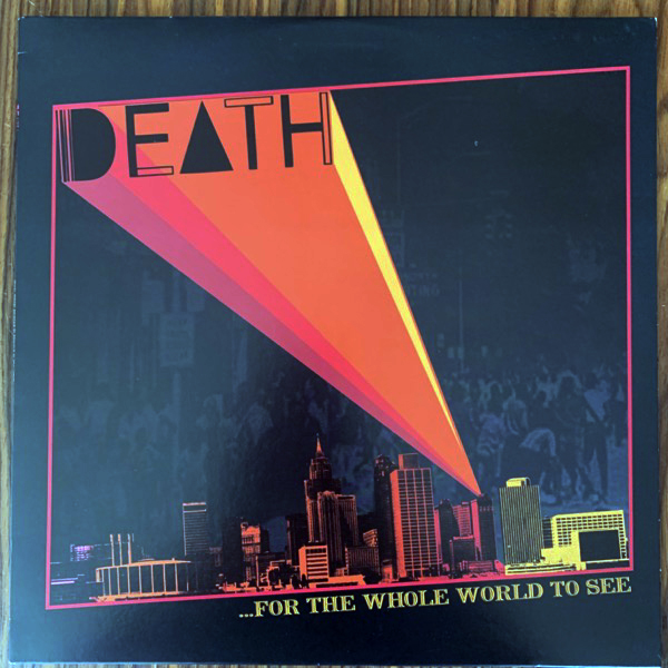 DEATH ...For The Whole World To See (Drag City - USA original) (EX) LP