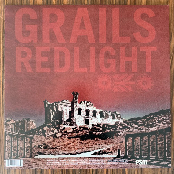 GRAILS Redlight (Pamlico Sound - USA reissue) (EX) LP