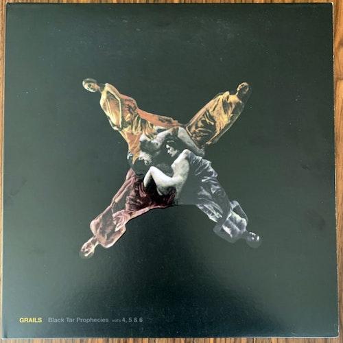 GRAILS Black Tar Prophecies Vol's 4, 5 & 6 (Red/yellow vinyl) (Temporary Residence - USA original) (EX/NM) 2LP