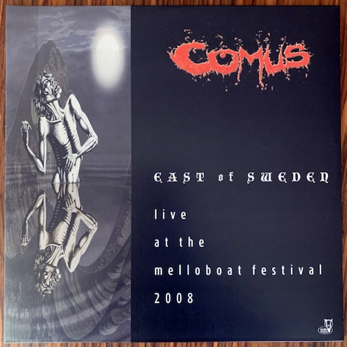 COMUS East Of Sweden - Live At The Melloboat Festival 2008 (Green vinyl) (Rise Above - UK original) (NM) 2LP