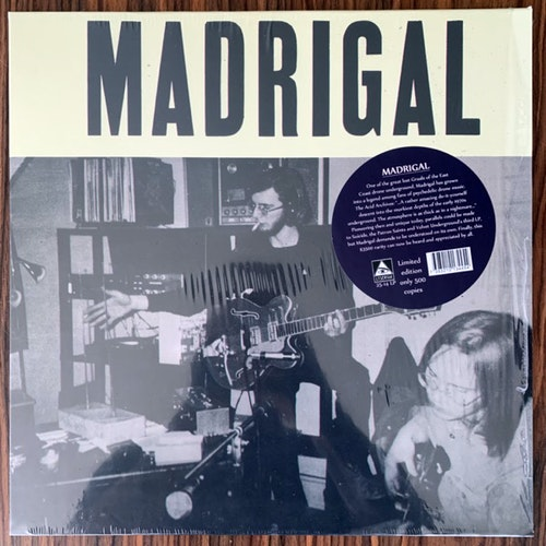 MADRIGAL Madrigal (Lysergia - Sweden reissue) (NM) LP