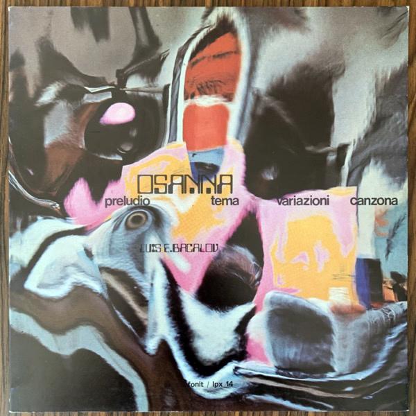 OSANNA Preludio Tema Variazioni Canzona (Fonit - Italy original) (EX) LP