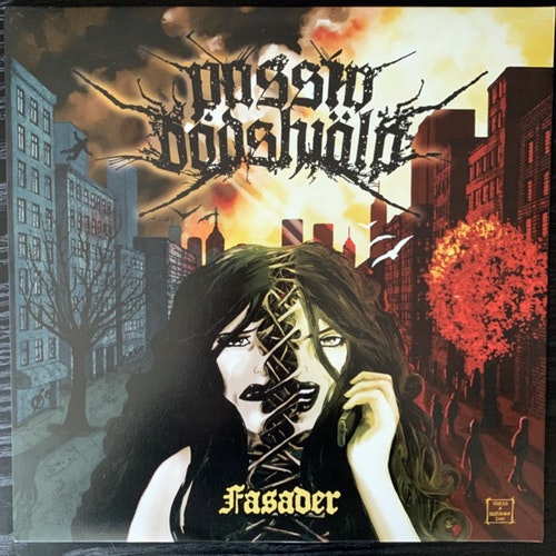 PASSIV DÖDSHJÄLP Fasader (Halvfabrikat - Sweden original) (EX/NM) LP
