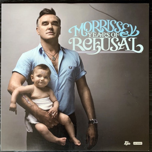 MORRISSEY Years Of Refusal (Attack - USA original) (VG+/EX) LP