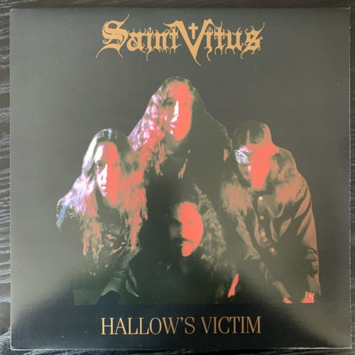 SAINT VITUS Hallow's Victim (SST - USA 2010 reissue) (EX) LP