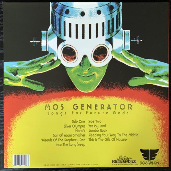 MOS GENERATOR Songs For Future Gods (Green vinyl) (Roadburn - Holland original) (EX/NM) LP