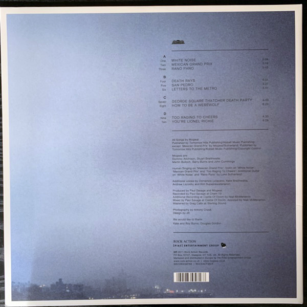 MOGWAI Hardcore Will Never Die, But You Will (Rock Action - Europe original) (NM) 2LP