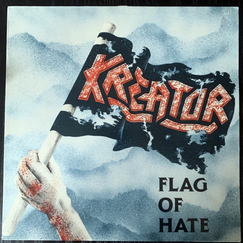 "KREATOR Flag Of Hate (Noise - Germany original) (VG+) 12"" EP"