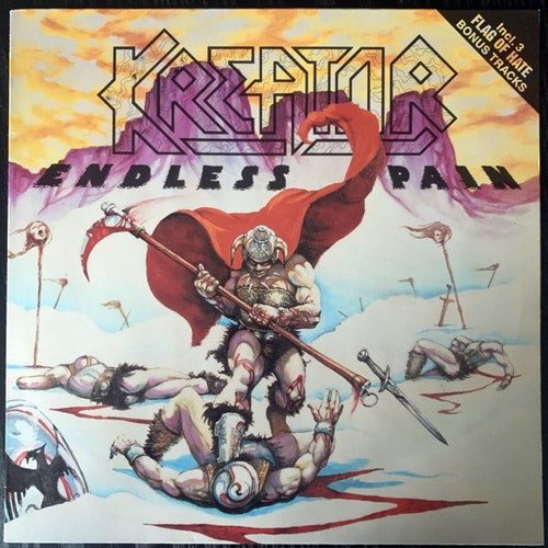 KREATOR Endless Pain (Noise - Germany 1989 reissue) (VG+) LP
