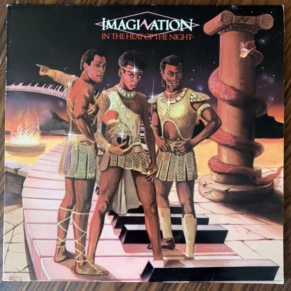 IMAGINATION In The Heat Of The Night (R & B - Scandinavia original) (VG+) LP
