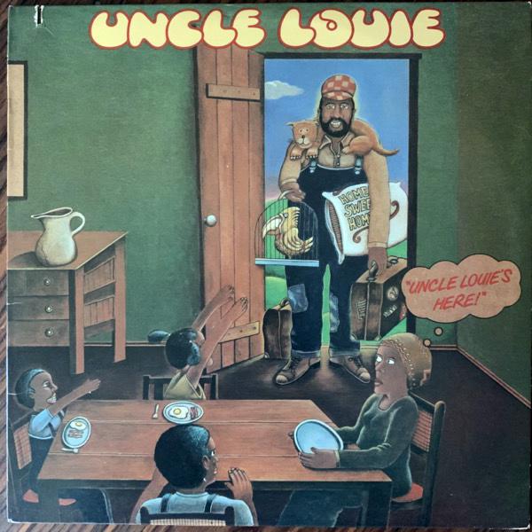 UNCLE LOUIE Uncle Louie's Here (Marlin - USA original) (VG+/G) LP