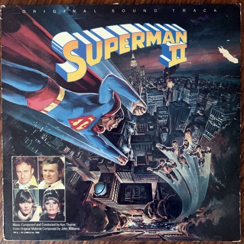 SOUNDTRACK Ken Thorne ‎– Superman II (Warner - UK original) (VG/VG+) LP
