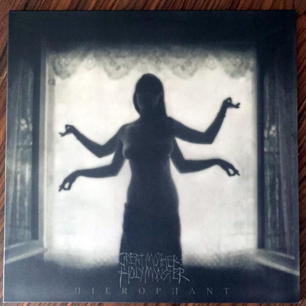 HIEROPHANT Great Mother: Holy Monster (Red vinyl) (Bridge Nine - USA original) (EX) LP