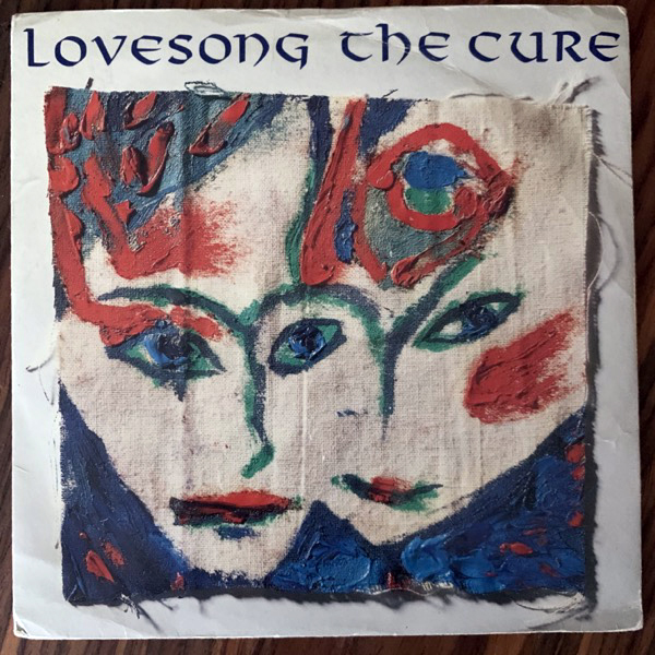 CURE, the Lovesong (Fiction - UK original) (VG) 7""