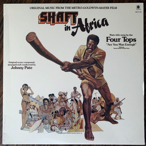 SOUNDTRACK Johnny Pate ‎– Shaft In Africa (ABC - USA 2006 reissue) (EX) LP