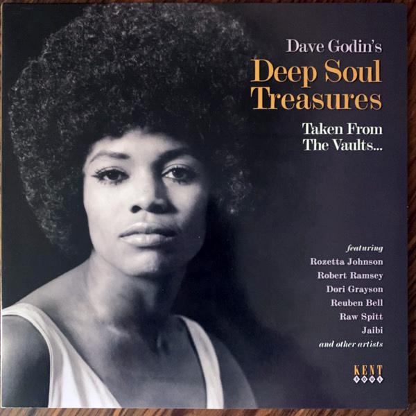 VARIOUS Dave Godin's Deep Soul Treasures (Taken From The Vaults...) (Lavender vinyl) (Kent Soul - UK original) (EX/NM) LP