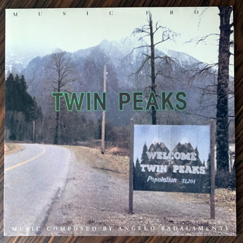 SOUNDTRACK Angelo Badalamenti ‎– Music From Twin Peaks (Warner - Europe original) (EX/VG+) LP