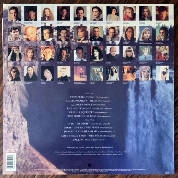 SOUNDTRACK Angelo Badalamenti – Music From Twin Peaks (Warner - Europe original) (EX/VG+) LP