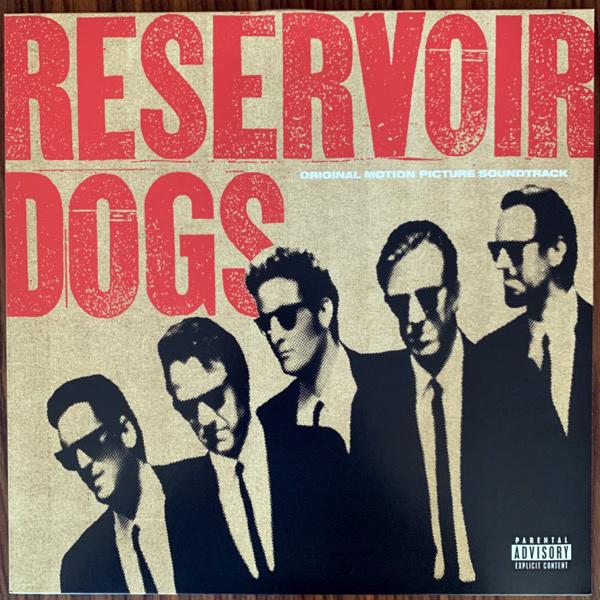 SOUNDTRACK Reservoir Dogs (Orange vinyl) (Geffen - Europe reissue) (VG+/EX) LP