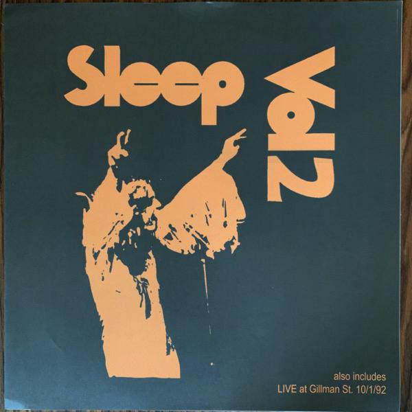 SLEEP Vol 2 (Pink vinyl) (No label - US unofficial release) (EX) LP