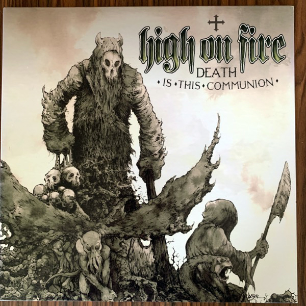 HIGH ON FIRE Death Is This Communion (Relapse - USA 2010 reissue) (EX) 2LP