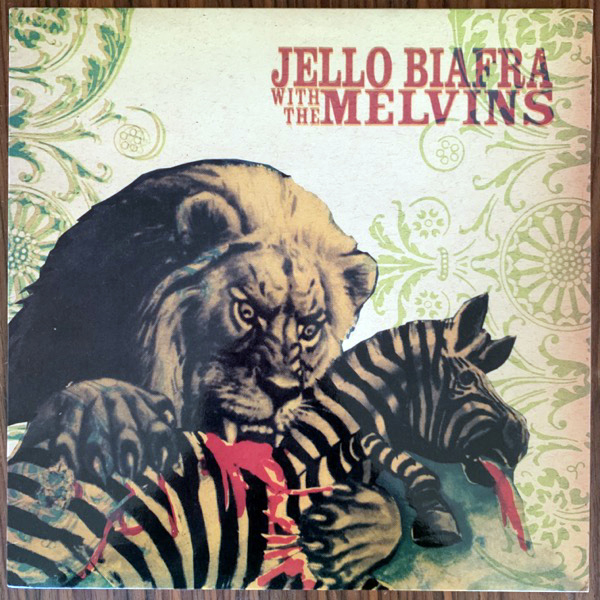 JELLO BIAFRA WITH THE MELVINS Never Breathe What You Can't See (Alternative Tentacles - USA original) (EX) LP