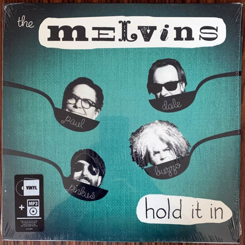 MELVINS, the Hold It In (Ipecac - USA original) (NM/EX) LP