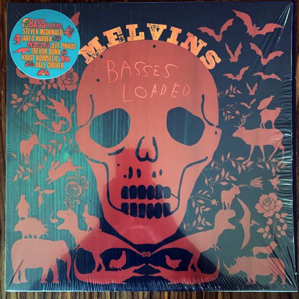 MELVINS Basses Loaded (Ipecac - USA original) (NM/EX) LP