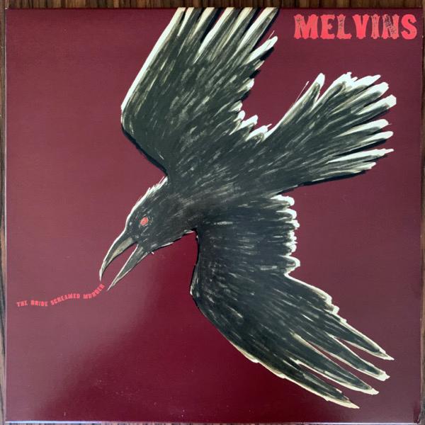 MELVINS The Bride Screamed Murder (King Buzzo cover, splatter vinyl) (Amphetamine Reptile - USA original) (EX/NM) LP