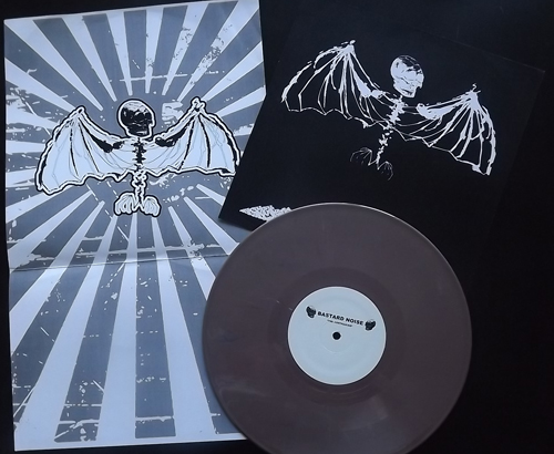 "BASTARD NOISE The Progression Of Sickness (Brown vinyl. Japan tour edition.) (Deep Six - USA original) (EX/NM) 10"""
