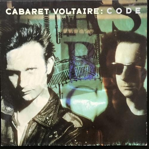 CABARET VOLTAIRE Code (Parlophone - Europe original) (VG+/VG) LP