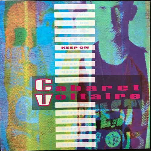 "CABARET VOLTAIRE Keep On (Parlophone - UK original) (EX/VG+) 12"""