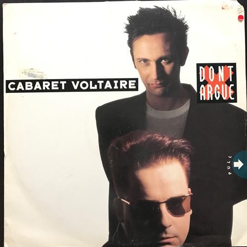 """CABARET VOLTAIRE Don't Argue (Parlophone - UK original) (G/VG) 12"""""""