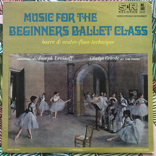 GLADYS CELESTE Music For the Beginners Ballet Class (S & R - USA original) (VG+/VG) LP