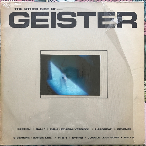 GEISTERFAHRER The Other Side Of... (Independance - Germany original) (VG+) LP