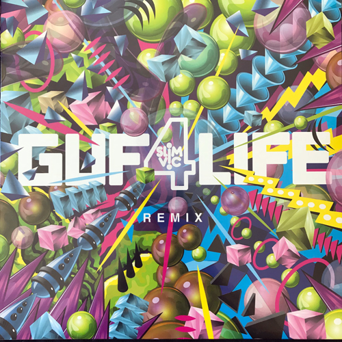 "GUF GUF4LIFE (Slim Vic Remix) (Lamour - Sweden original) (NEW) 12"" EP"