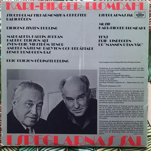 KARL-BIRGER BLOMDAHL I Speglarnas Sal (Expo Norr - Sweden reissue) (VG/EX) LP