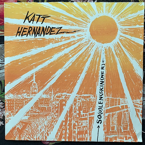 KATT HERNANDEZ So(u)len (skin(ner) (Fylkingen - Sweden original) (EX/VG+) LP