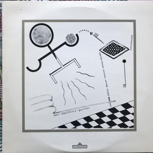 KNUT SÖNSTEVOLD Bassoon (Fylkingen - Sweden original) (VG+) LP