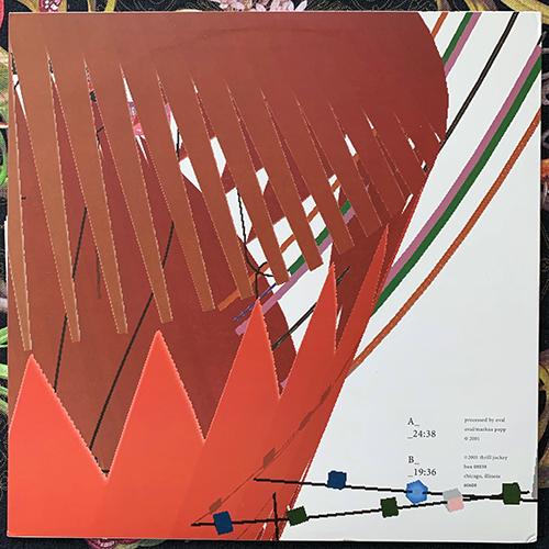 OVAL Ovalcommers (Thrill Jockey - USA original) (EX/VG+) LP