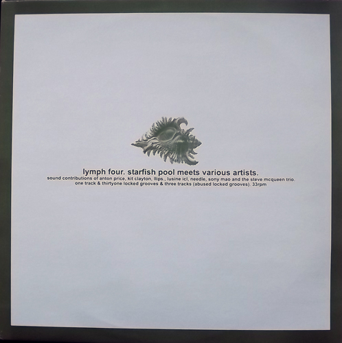 STARFISH POOL MEETS VARIOUS ARTISTS Lymph Four (Lymph - Europe original) (EX) 12""