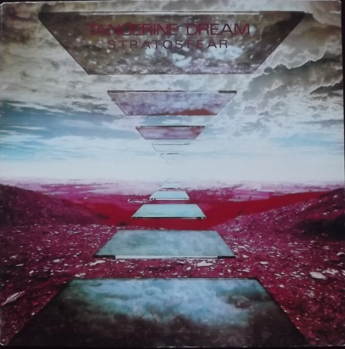 TANGERINE DREAM Stratosfear (Virgin - USA reissue) (VG/VG+) LP