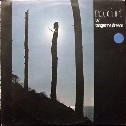 TANGERINE DREAM Ricochet (Virgin - UK original) (VG) LP